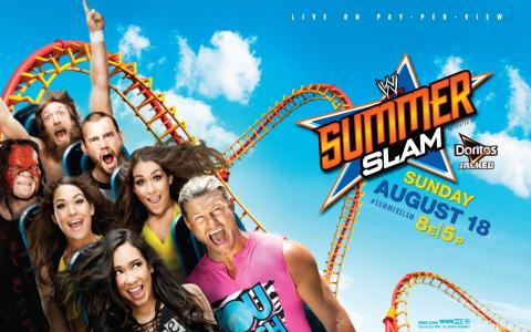 WWE Summerslam 2013 wallpaper