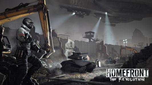 Homefront革命字段墙纸