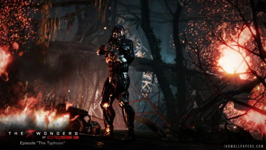 Crysis 3 Prophet and the Typhoon wallpaper
