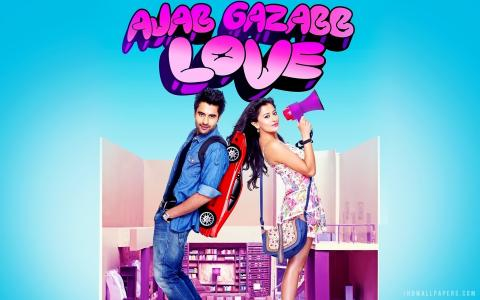Ajab Gazabb Love Movie wallpaper