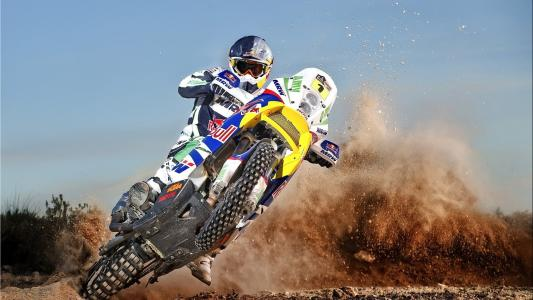 Dirtbike Wheelie Dirt HD wallpaper