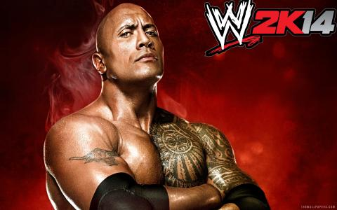 WWE 2K14 The Rock壁纸
