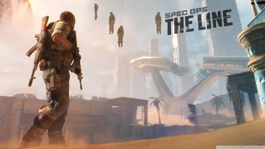 Spec Ops:Line Soldiers HD壁纸