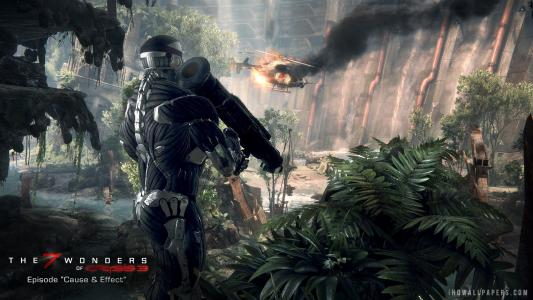 7 Wonders of Crysis 3 Rocketman wallpaper
