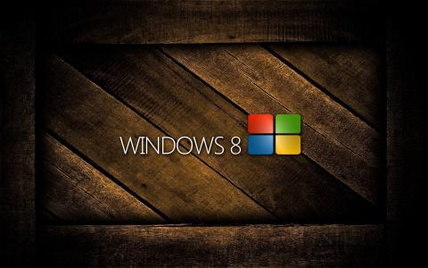 Windows 8木壁纸