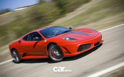 Ferrari F430 Drifting wallpaper