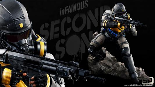 inFAMOUS Second Son Game 2014壁纸