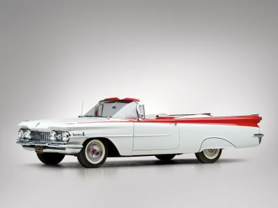 Oldsmobile Dynamic 88 Convertible 1959壁纸